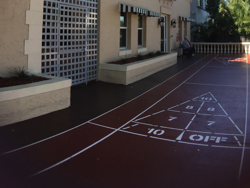 Lulav Square Shuffle Board