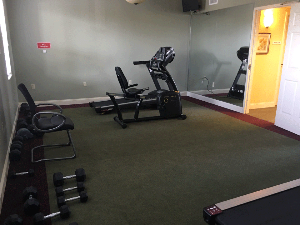 Chatham Pointe Workout Room
