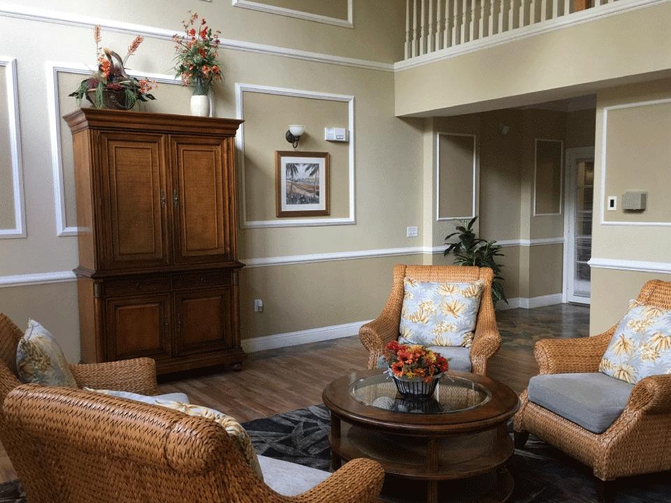 Laurel Oaks Indoor Rest Area